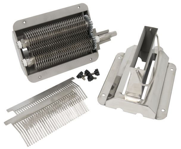 American Eagle AE-TS12H Commercial Meat Tenderizer Attachment Stainless Steel Open