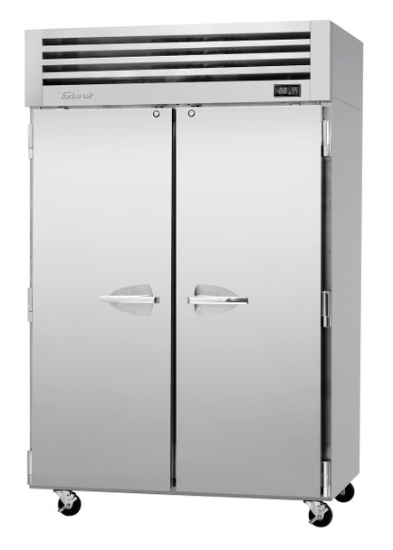 Turbo Air PRO-50R-N 2 Solid Doors Top Mount Refrigerator