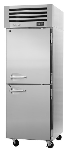 Turbo Air PRO-26-2R-N Single Section Reach-In Top Mount Solid Half-Doors Refrigerator