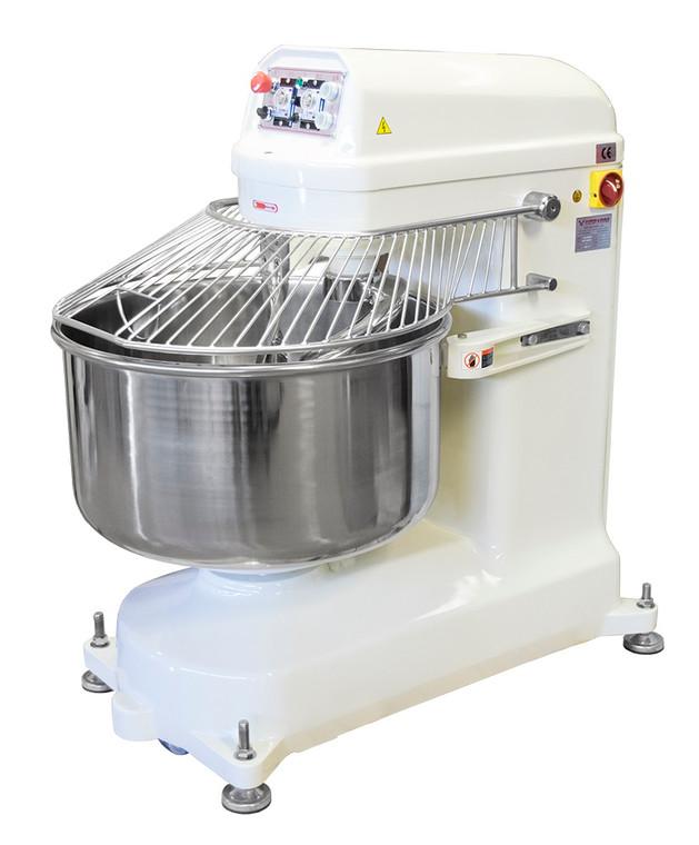 American Eagle AE-5080 125Qt Spiral Mixer 100lbs Flour/176lbs Dough, 5HP (PRE-AE-5080)
