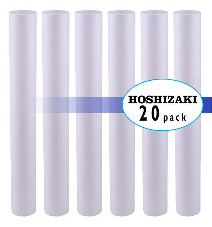 Hoshizaki 9534-20  Twin & Triple Configuration Filtration System  EC210 Prefilter Replacement Cartridge 20 Pack