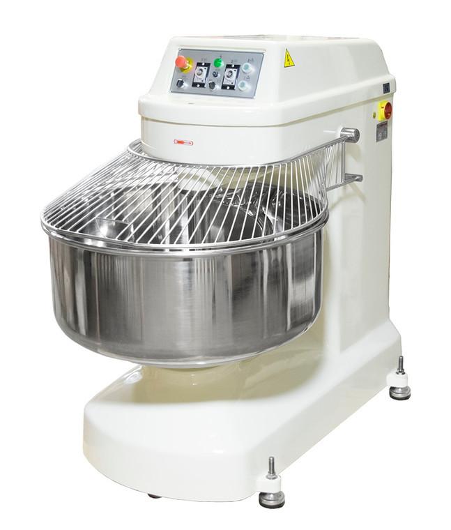 American Eagle AE-125K 250Qt Spiral Mixer, Capacity 275Lbs Flour, 396Lbs Dough, 15HP Agitator, 5HP Bowl, 220V/3Ph/60Hz Closed