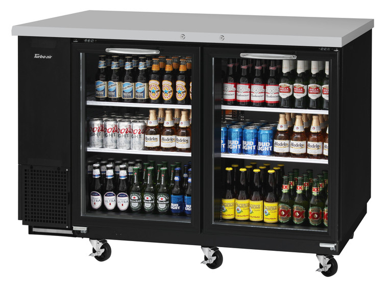 TBB-24-60SG-N Glass Door Back Bar