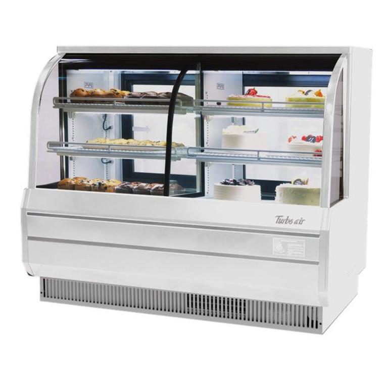 TCGB-60CO-W-N White Bakery Case