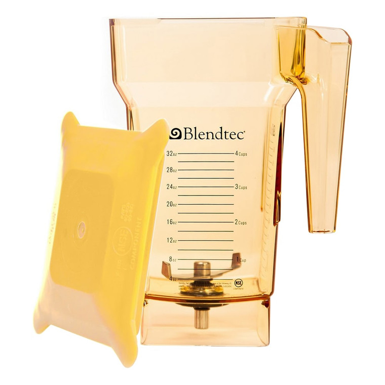 Yellow Fourside Jar
