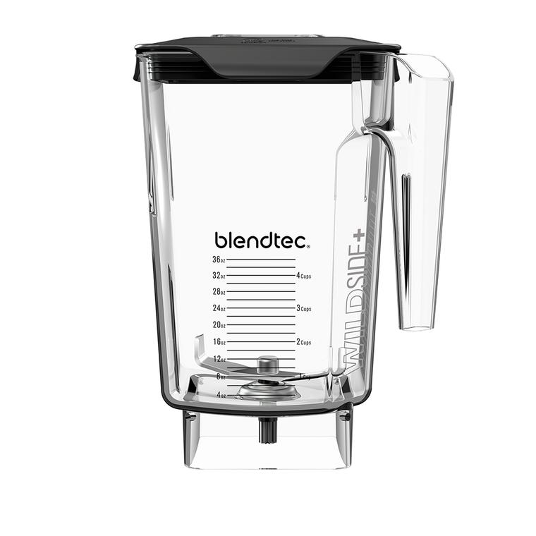"""Blendtec Clear Wildside+ Blender Jar 4"""" Wingtip Blade"""