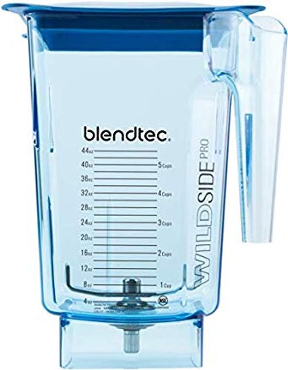 """Blendtec Blue Wildside+ Blender Jar 4"""" Wingtip Blade"""