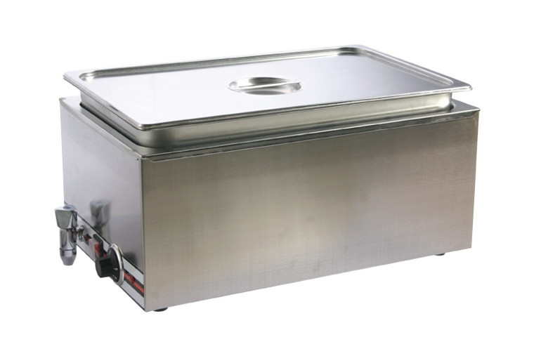Pro Restaurant Equipment Bain Marie, Single Section, Single Pan