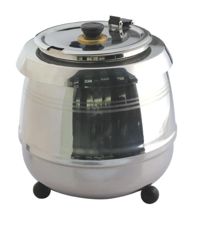Pro Restaurant Equipment Soup Kettle - Stainless Steel Front