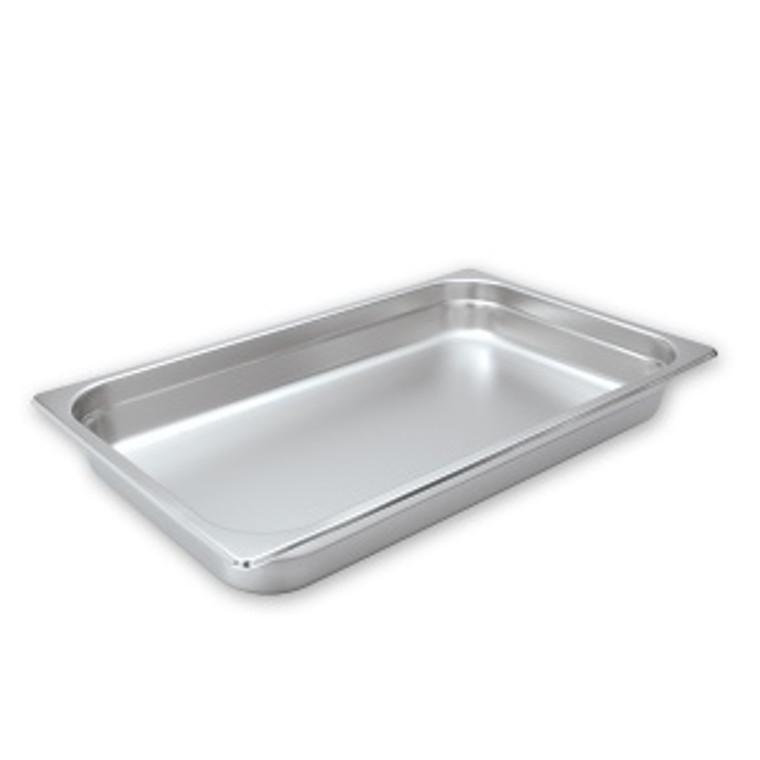 "Pro Restaurant Equipment Bain Marie Pan, Large Full Size, Extra Deep, 13""x20""x6"""