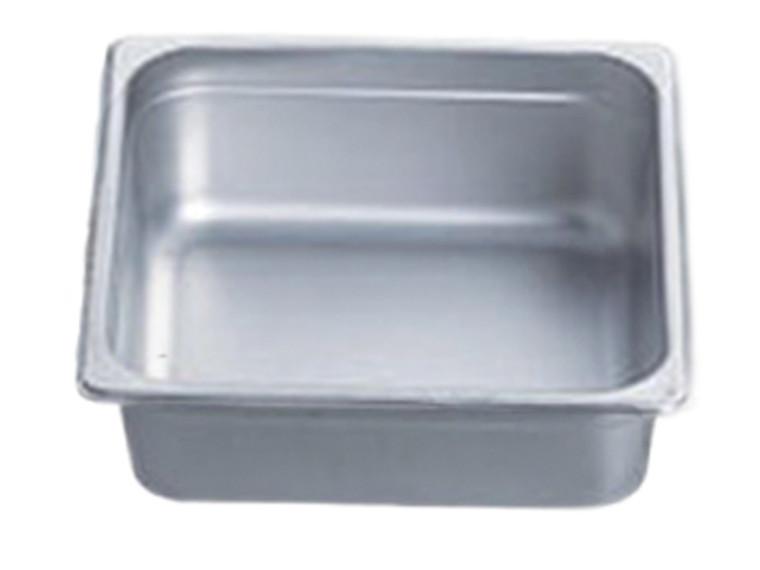 "Pro Restaurant Equipment Bain Marie Pan, Half Size, Extra Deep, 13"" x 10.5"" x 6"""