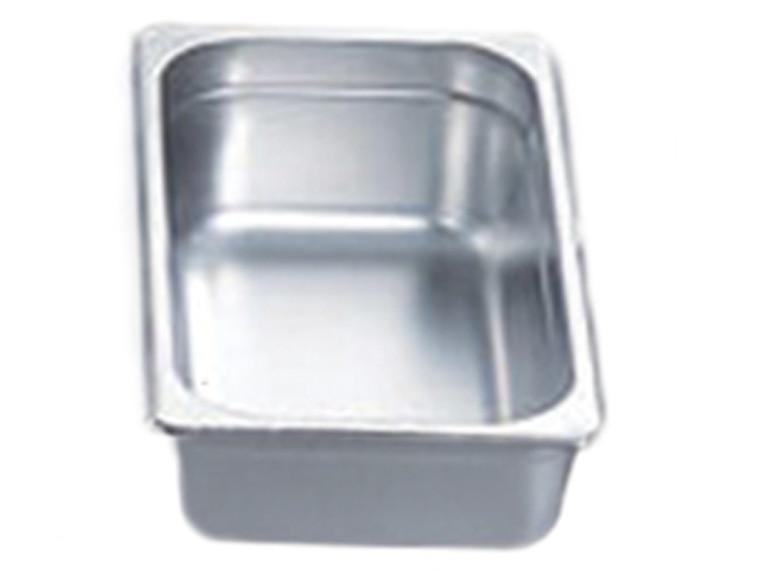 "Pro Restaurant Equipment Bain Marie Pan, 1/3 Size Pan, Extra Deep, 13"" x 7"" x 6"""