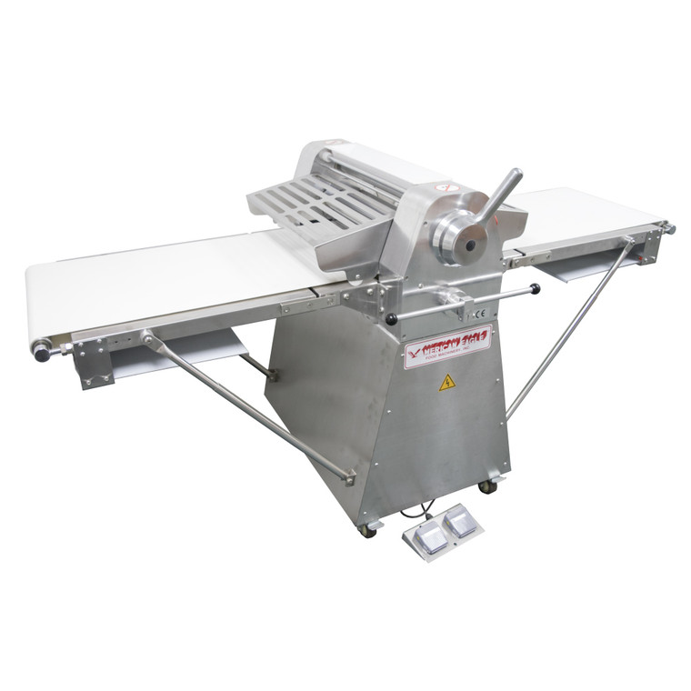 American Eagle AE-DS52-SS 1/2HP Stainless Steel Dough Sheeter Floor Type ISO