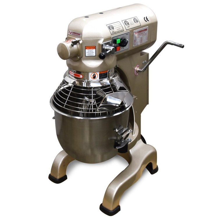 American Eagle AE-20GA 20 QT. Gold Series Planetary Mixer W/ Guard, 115V/1PH/60HZ, 3 Speeds