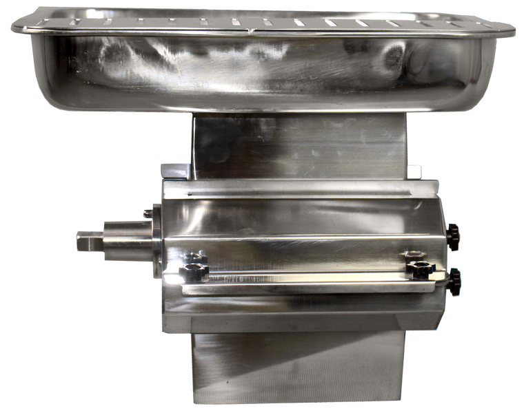 American Eagle AE-GMC22NH Large Capacity Meat Cutter Attachment Stainless Steel Fits #12 Hub