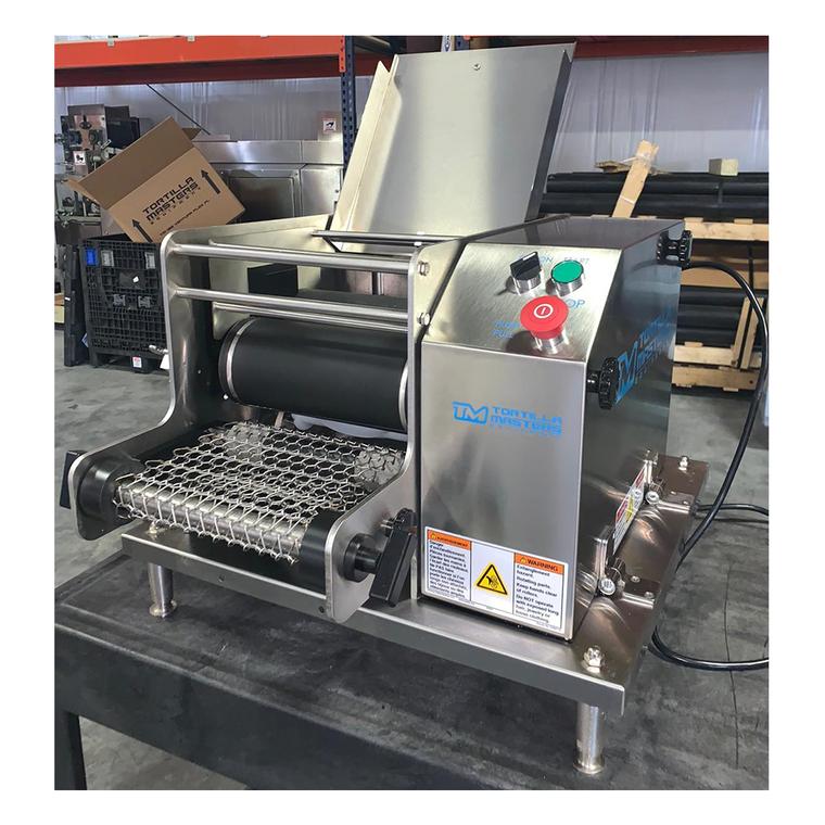 REFURBISHED Tortilla Masters TM-105 Ventura Flex Tabletop Corn Tortilla Machine
