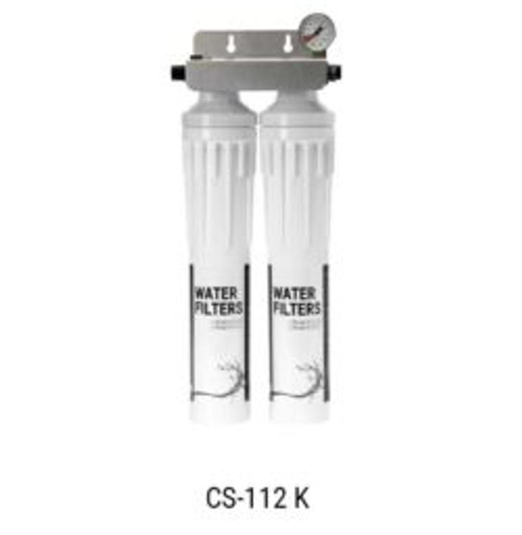 ITV CS-112 K Water Filtration Twin Kit W/ Manifold & Cartridge
