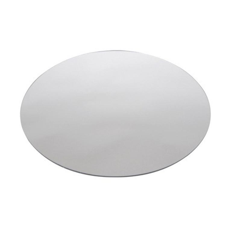 "Buffet Enhancements Acrylic Mirror, Round 14"", Set Of 25"
