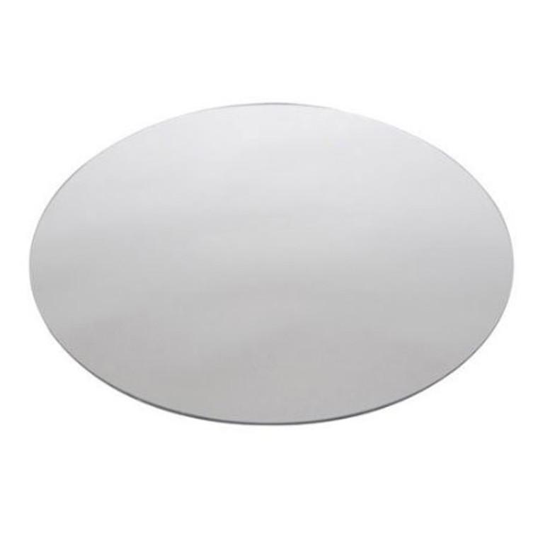 "Buffet Enhancements Acrylic Mirror, Round 14"", Set Of 50"
