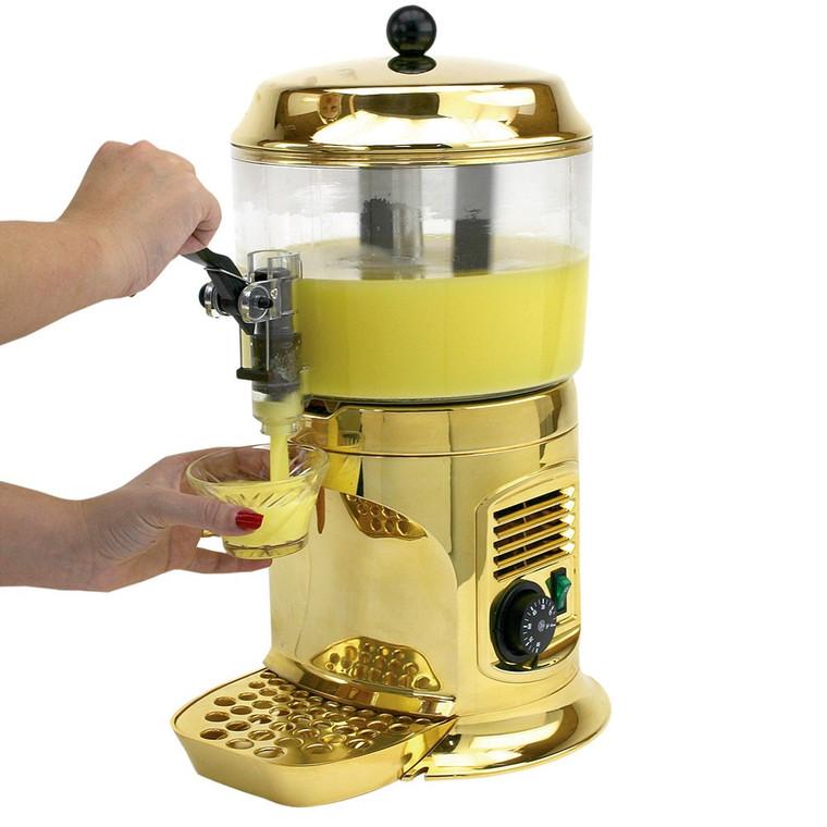 Buffet Enhancements Chocolate Shot, Drinking Chocolate Machine, Gold