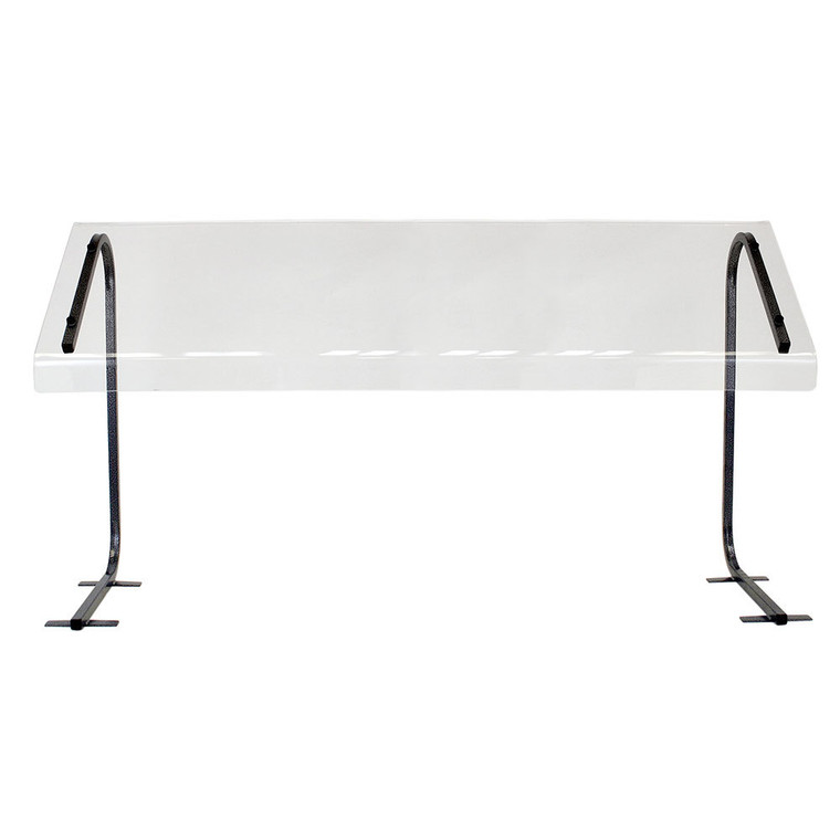 Buffet Enhancements Sneeze Guard, Economy, 36 in. Table Top, Portable-BK