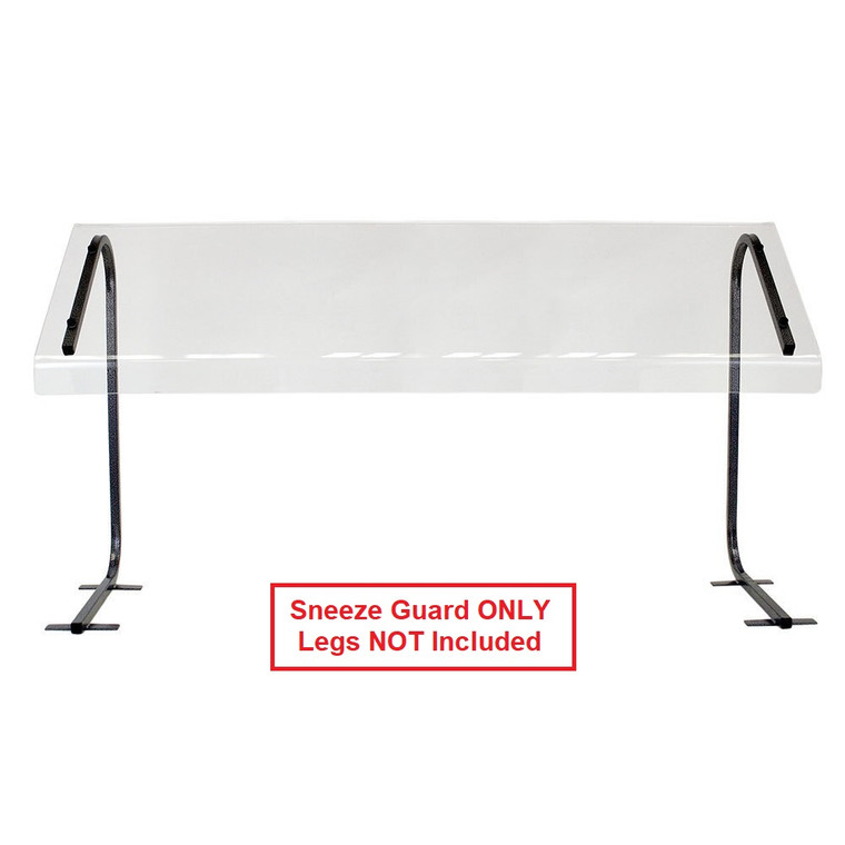 Buffet Enhancements Replacement Shield for Sneeze Guard, Economy, 24 in.