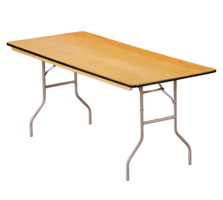 "Buffet Enhancements Table, Folding, Rectangle, 72 X 30"", Sealed Plywood Top, Minimum Quantity 10"