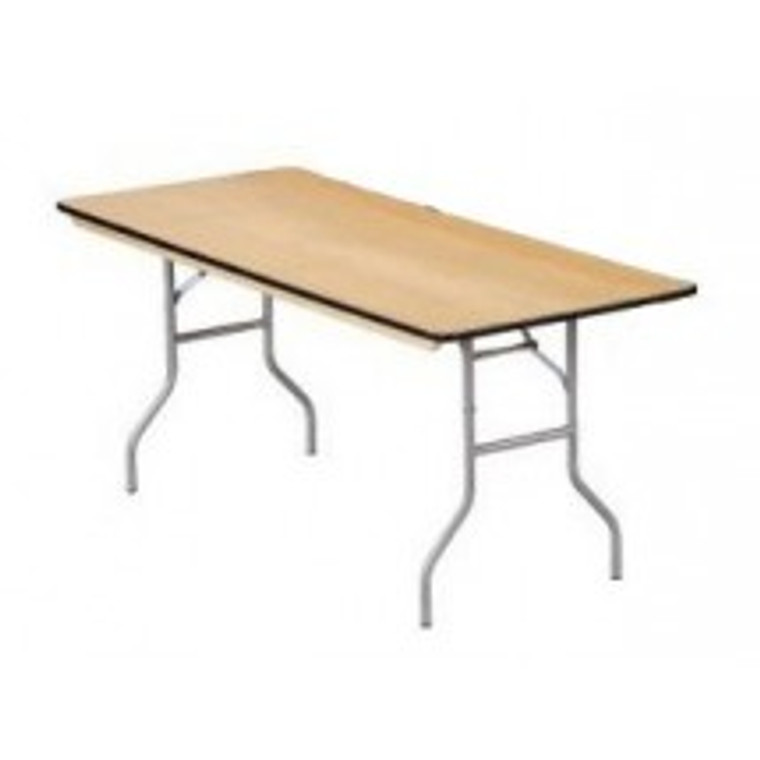 "Buffet Enhancements Table, Folding, Rectangle, 48 X 30"", Sealed Plywood Top, Minimum Quantity 10"