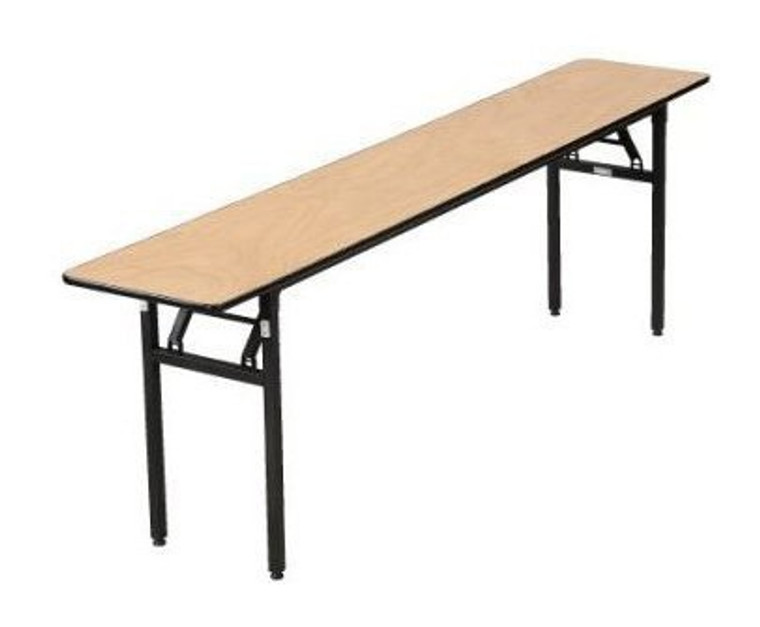 Buffet Enhancements Table, Folding, 72x24in., Sealed Plywood Top, Minimum Quantity 10