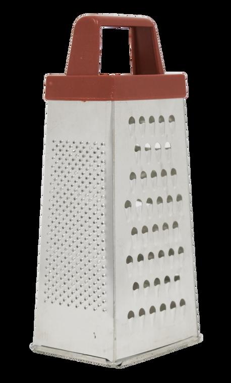 Pro Restaurant Equipment Box Grater For Parmesan Cheese, Ginger, Vegetables