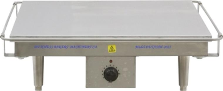 """Dutchess DUT/TXW-2025 Flat Grill 20"""" x 25"""" 220V (Tortilla Warmer)"""