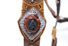El Oriente Holster gemstone close up