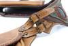 El Milagro Leather Utility Belt Bag strap buckle