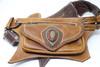 El Milagro Leather Utility Belt Bag one side view