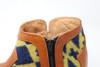 Women's Carmel & Wool Handmade Leather Booties