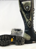 Women's Tall Gunslinger boots Black and Gray sole