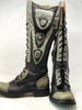Women's Tall Gunslinger boots Black and Gray