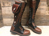 Women's Tall Gunslinger boots Black and Brown side vew