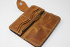 Long Bill Leather Wallet with chain