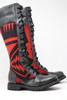 Women's Tall Black & Pendleton  Wool Handmade Leather Boots *Gunslinger*
