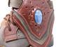 Women's Green & Brown Handmade Leather Boots *Gunslinger*