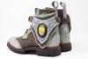 MEN'S Green and Gray Handmade Leather Boots *Gunslinger*