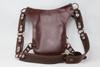 Aventurera Leather Utility Belt Bag  Brown back view