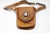 Carmel leather Utility Belt Bag