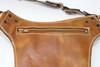 leather Utility Belt Bag zipper pocket