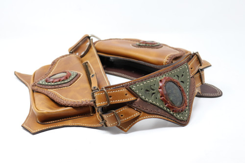 Full shot of El Milagro Leather Utility Belt Bag