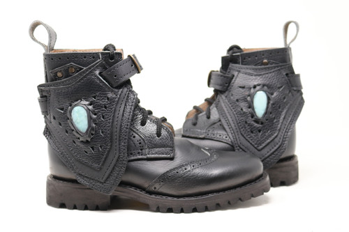 Black Women's Gunslinger Boots