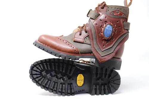 Green & Brown Women's Gunslinger Boots