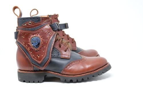 Black and Brown MEN'S Gunslinger Boots