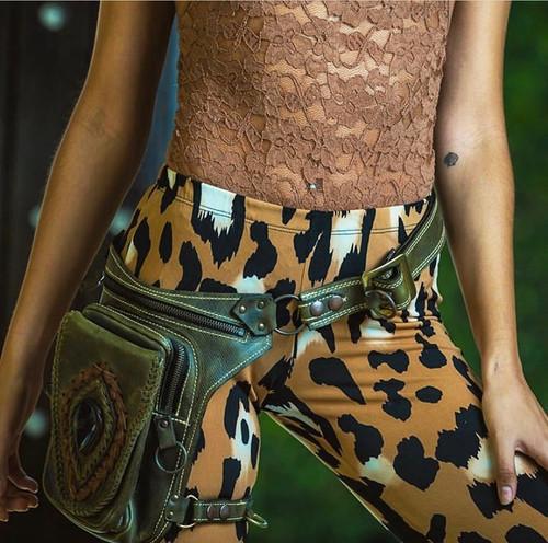 Aventurera Leather Utility Belt Bag Lifestyle photo